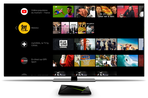 Android-TV Oreo sur Shield TV