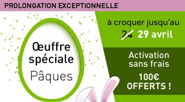 Prolongation exceptionnelle Oeuffre Spéciale !