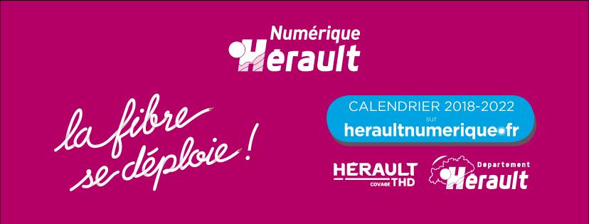 Hérault - La Fibre se déploie - Réunions d'Information Publiques