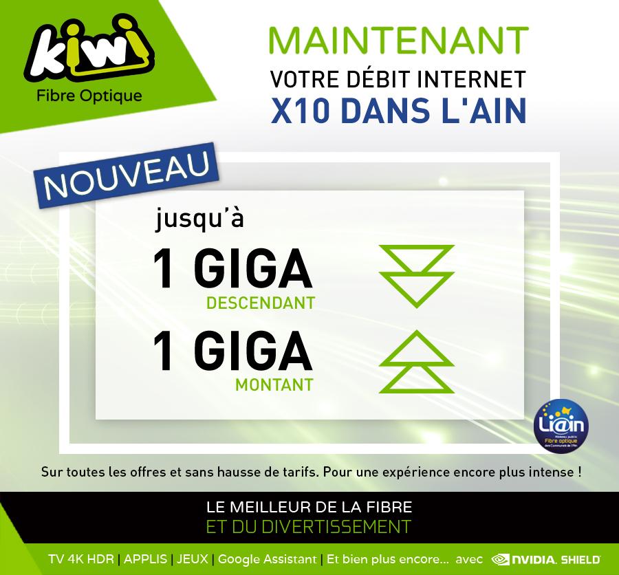 La Fibre Kiwi passe au Giga symétrique